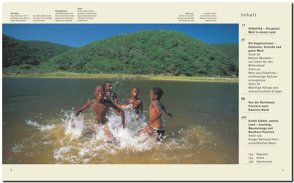 Indianer von Südafrika
